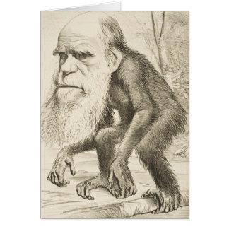 Ejemplo de la original de Charles Darwin Tarjeta De Felicitación