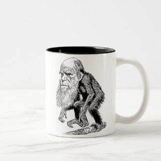 Ejemplo de la original de Charles Darwin Taza De Café De Dos Colores