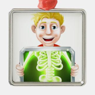 Ejemplo de la radiografía adornos de navidad