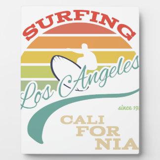 Ejemplo de la resaca de California, gráficos de la Placas Con Foto