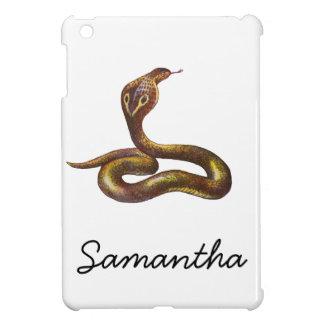 Ejemplo de la serpiente de la cobra del vintage