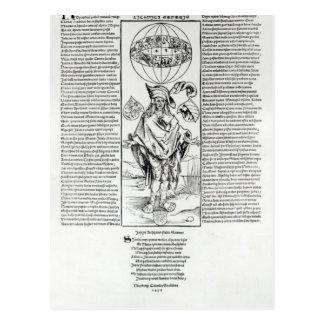 Ejemplo de la sífilis, 1496 postal