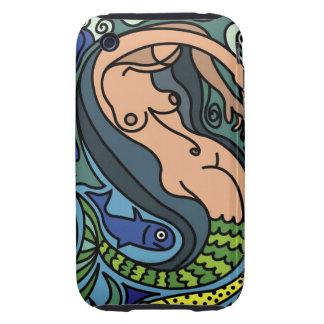 Ejemplo de la sirena iPhone 3 tough fundas