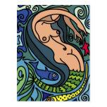 Ejemplo de la sirena postal