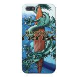 Ejemplo de la tabla hawaiana del dragón de Trybe iPhone 5 Funda