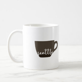 Ejemplo de la taza de café de Seattle