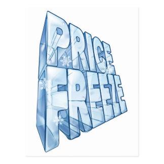 Ejemplo de la venta de la congelación de precios postal