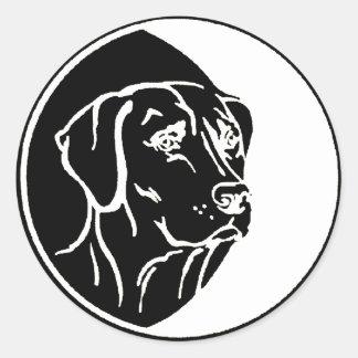 Ejemplo de Labrador Pegatinas