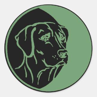 Ejemplo de Labrador Etiqueta