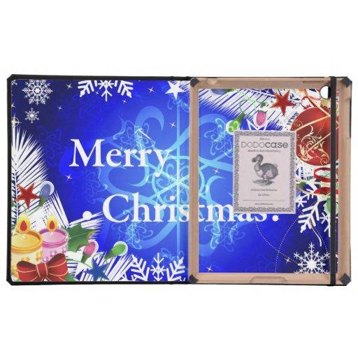 Ejemplo de las Felices Navidad iPad Carcasa