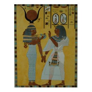 Ejemplo de las tumbas del valle tarjetas postales