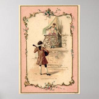 Ejemplo de los amantes del vintage posters