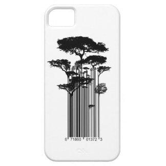 Ejemplo de los árboles del código de barras del es iPhone 5 Case-Mate carcasa
