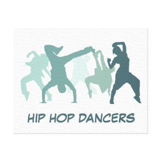 Ejemplo de los bailarines de Hip Hop Lona Estirada Galerias