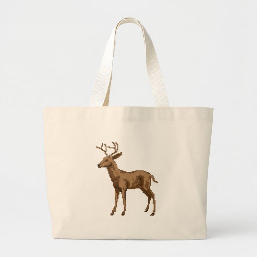 Ejemplo de los ciervos del arte del pixel bolsas