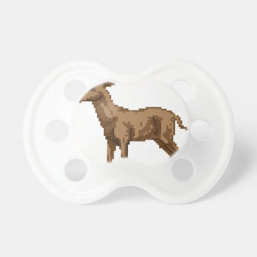 Ejemplo de los ciervos del arte del pixel chupetes de bebe