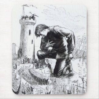 Ejemplo de los 'viajes de Gulliver Tapetes De Ratón