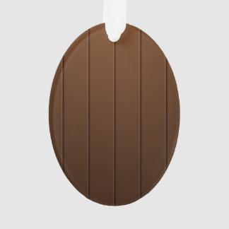 Ejemplo de madera del tablón de Brown
