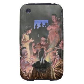 Ejemplo de Pocahontas que le habla iPhone 3 Tough Coberturas