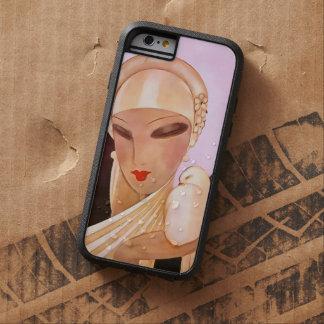 Ejemplo de ruborización del art déco del vintage funda tough xtreme iPhone 6