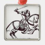 Ejemplo de un caballero Templar Ornamentos De Reyes