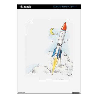 Ejemplo de un lanzamiento del cohete iPad 3 skin