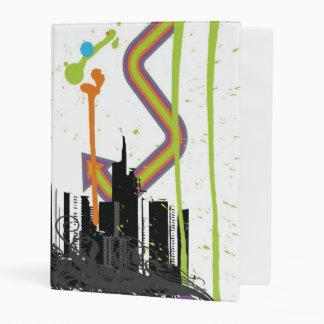 Ejemplo de un paisaje urbano sucio mini carpeta