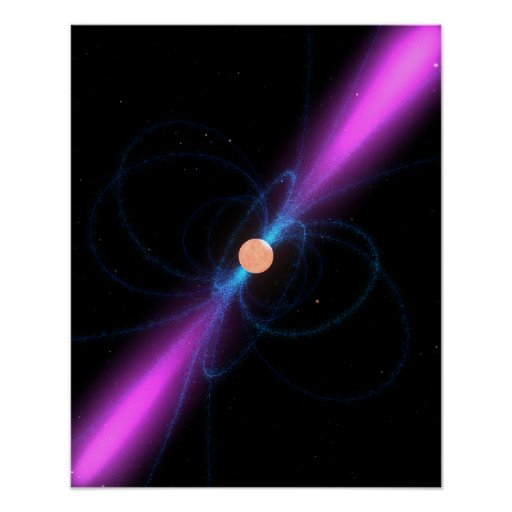 Ejemplo de un pulsar póster