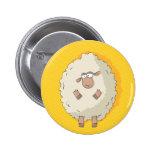 Ejemplo de una oveja gigante linda y divertida pin