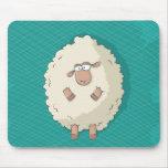 Ejemplo de una oveja gigante linda y divertida tapete de raton