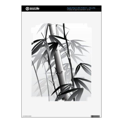 Ejemplo de una pintura oriental del estilo iPad 3 pegatina skin