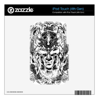 Ejemplo de Viking Skins Para iPod Touch 4G