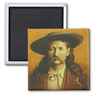 Ejemplo de Wild Bill Hickok Imán Cuadrado
