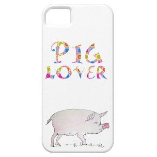Ejemplo del amante del cerdo iPhone 5 funda
