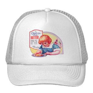 Ejemplo del anuncio de Deco de la mantequilla del Gorros Bordados