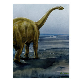 Ejemplo del Apatosaurus (Brontosaurus) Postal