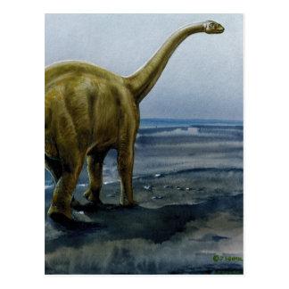 Ejemplo del Apatosaurus (Brontosaurus) Tarjetas Postales