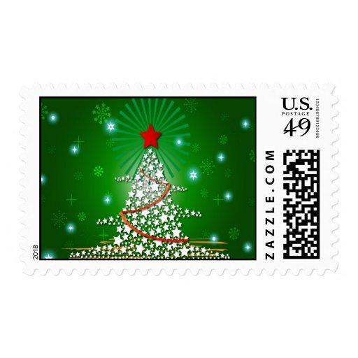 Ejemplo del árbol de navidad