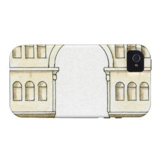 Ejemplo del arco del siglo IV temprano de Jano Case-Mate iPhone 4 Carcasa