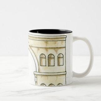 Ejemplo del arco del siglo IV temprano de Jano Tazas De Café