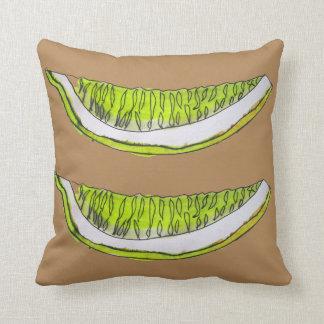 Ejemplo del arte del watercolour de la fruta del almohada