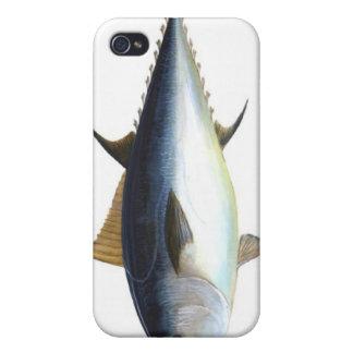Ejemplo del atún de Bluefin iPhone 4 Carcasa