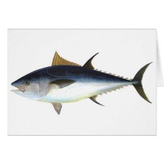 Ejemplo del atún de Bluefin Felicitacion