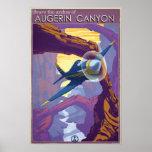 Ejemplo del barranco de Augerin Poster