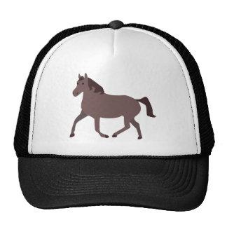 Ejemplo del caballo de Digitaces Brown Gorros
