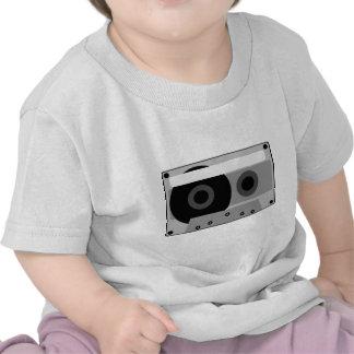 ejemplo del casete audio camisetas
