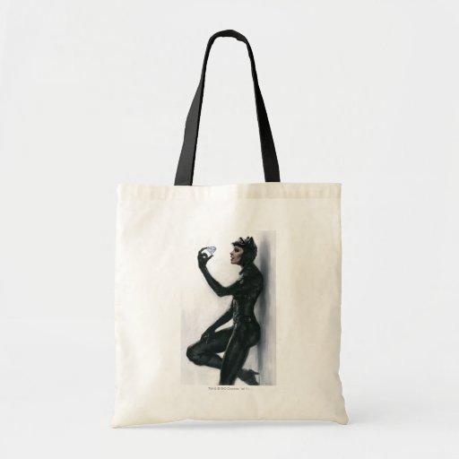 Ejemplo del Catwoman Bolsa Lienzo