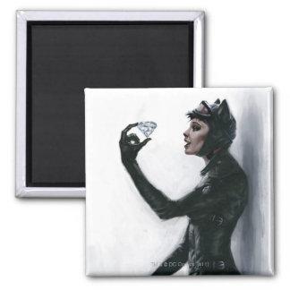 Ejemplo del Catwoman Imanes De Nevera