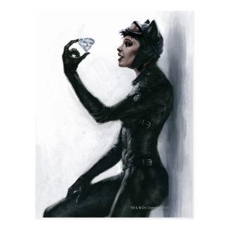 Ejemplo del Catwoman Postales