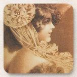 Ejemplo del chica del Victorian del vintage Posavaso